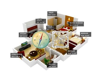 Interior Designing and Space Planning with Vaastu Shastra